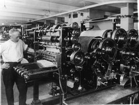 Old Style Printing Press