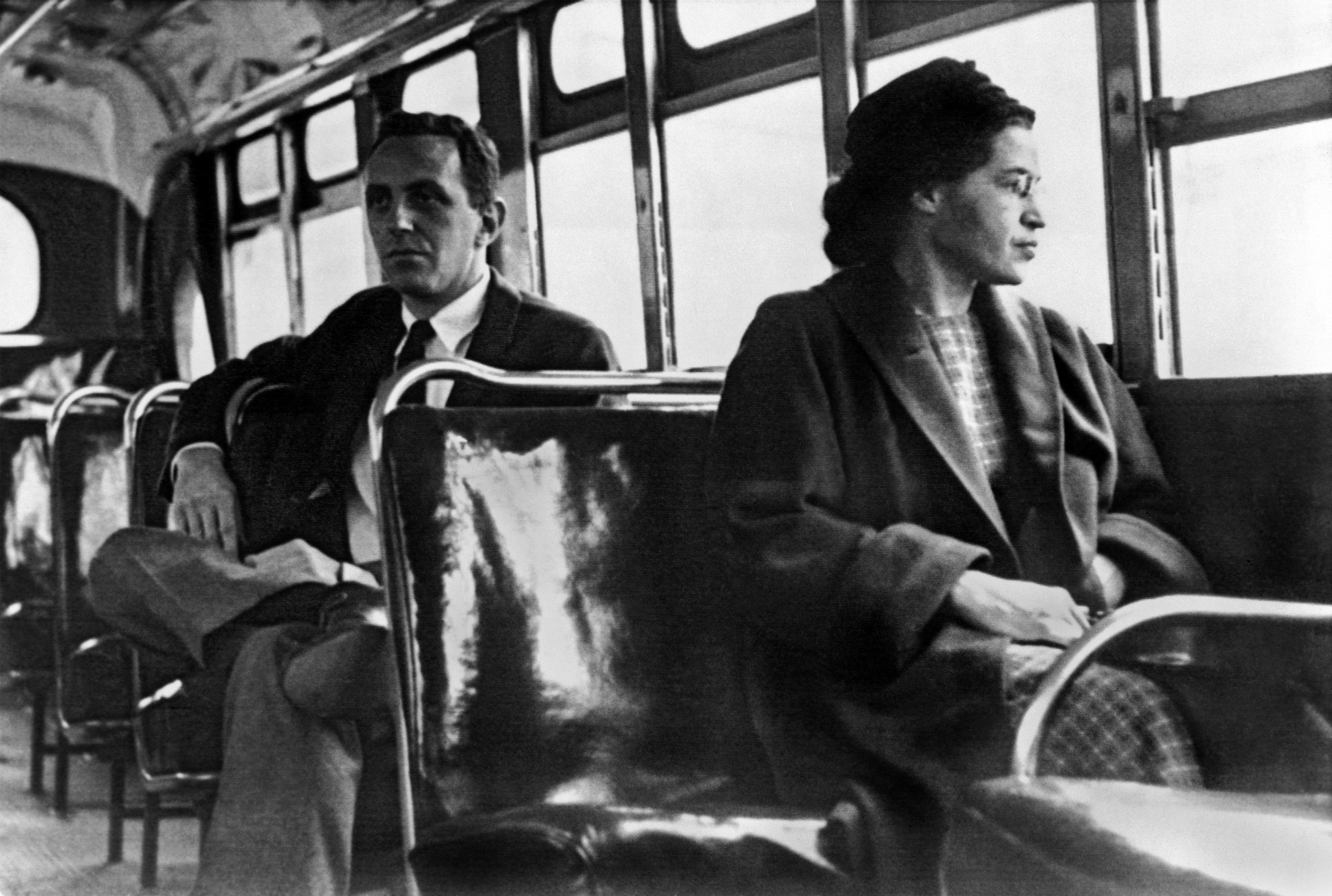 Το Rosa Parks On Bus