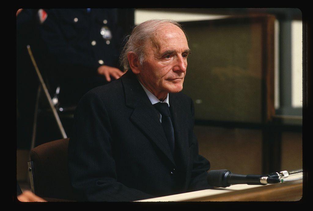 Klaus Barbie on Trial