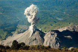 Santiaguito Volcano
