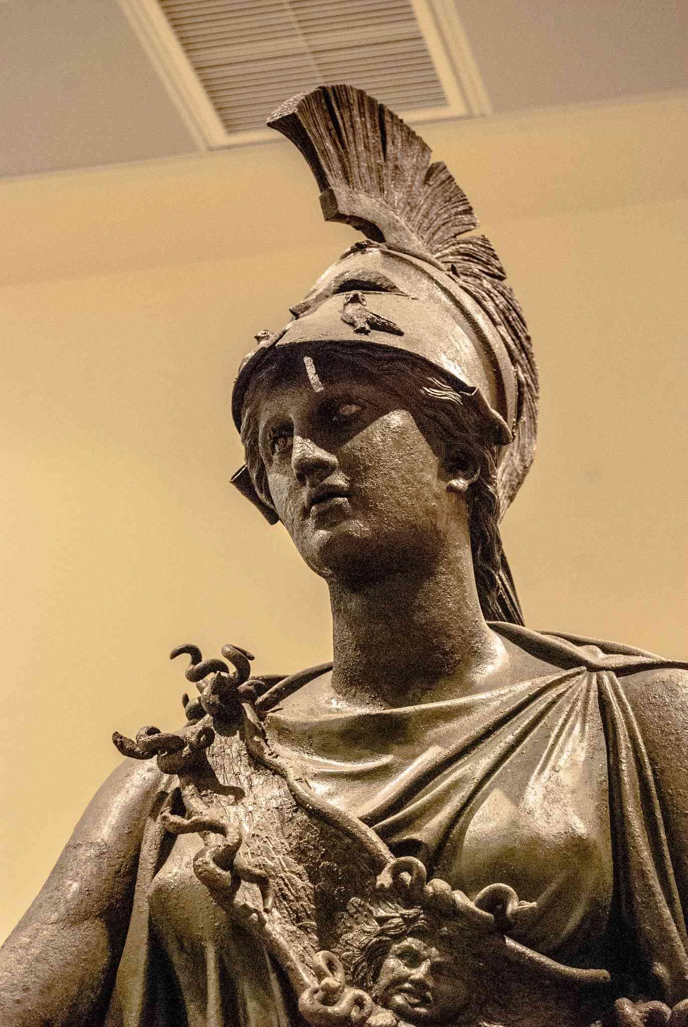 Bronze Athena, Piraeus Museum