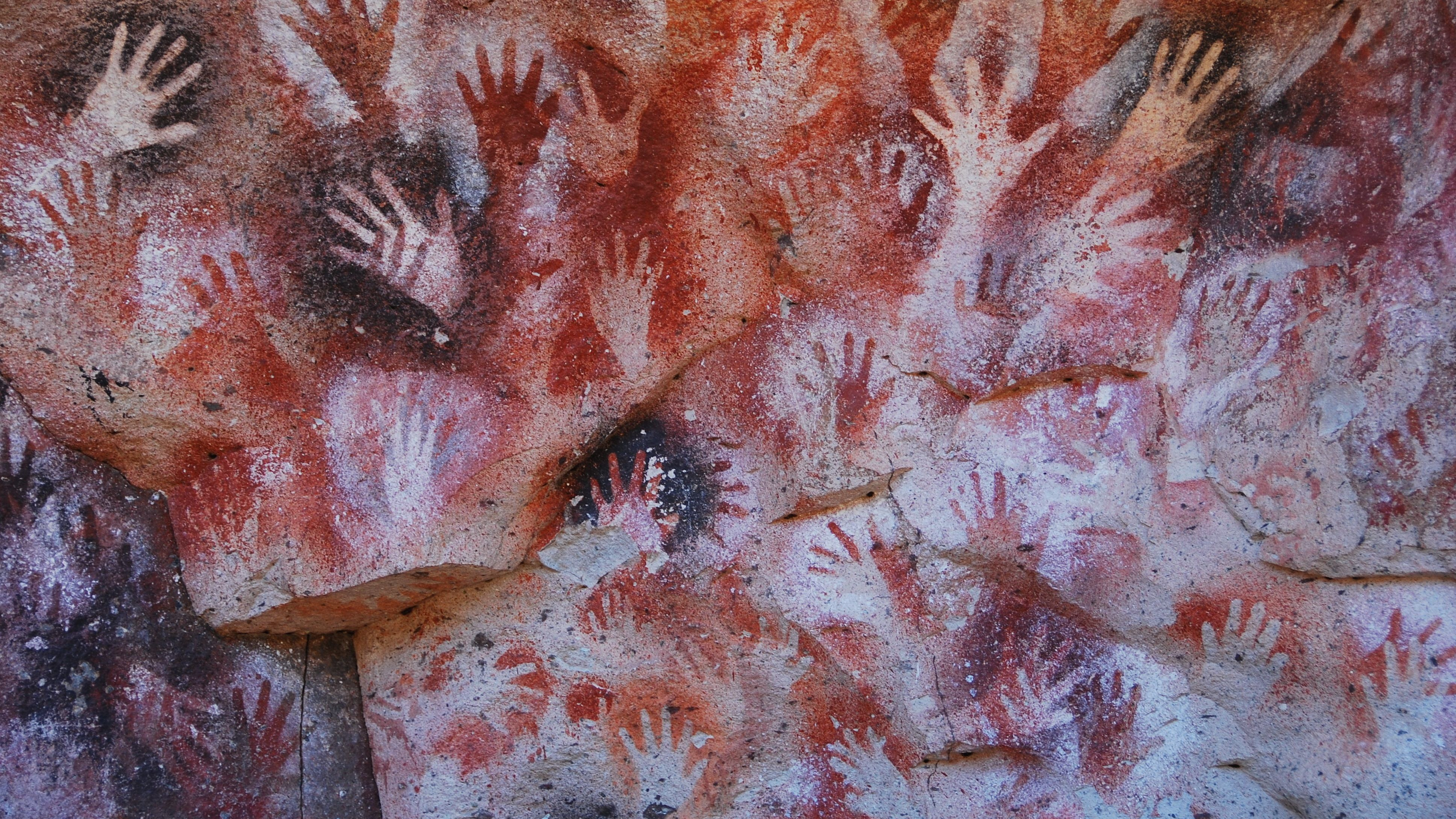 Ancient Cave Painting Art Works