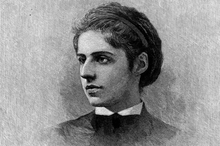 Emma Lazarus, author of