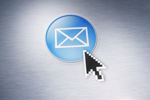 Email icon with cursor over it