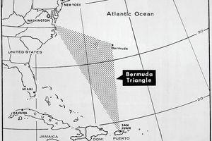 Area of the Bermuda Triangle