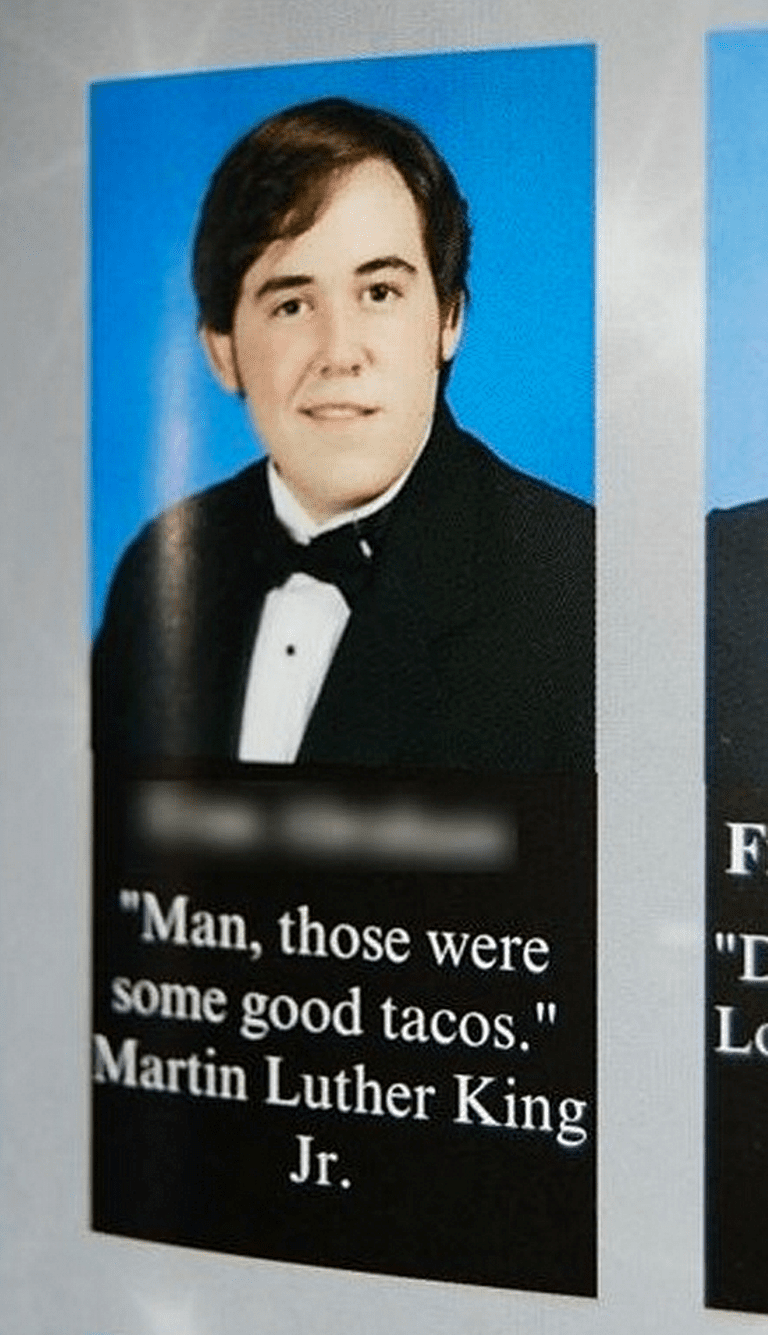 Hilarious yearbook quotes that belong a hall of fame yearbook quotes tacosg urtaz Images