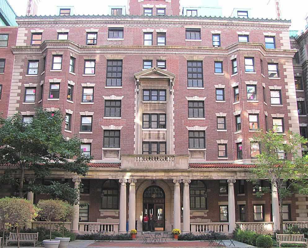 Brooks Hall at Barnard College