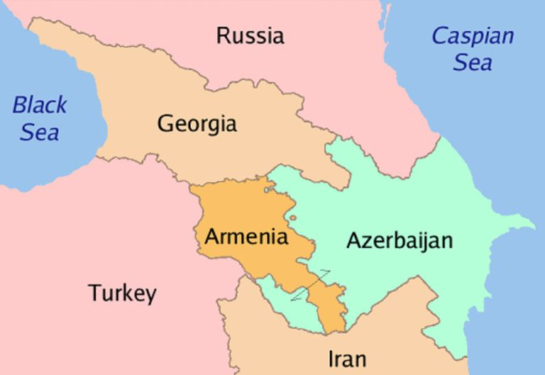 Are Georgia Armenia And Azerbaijan In Asia Or Europe