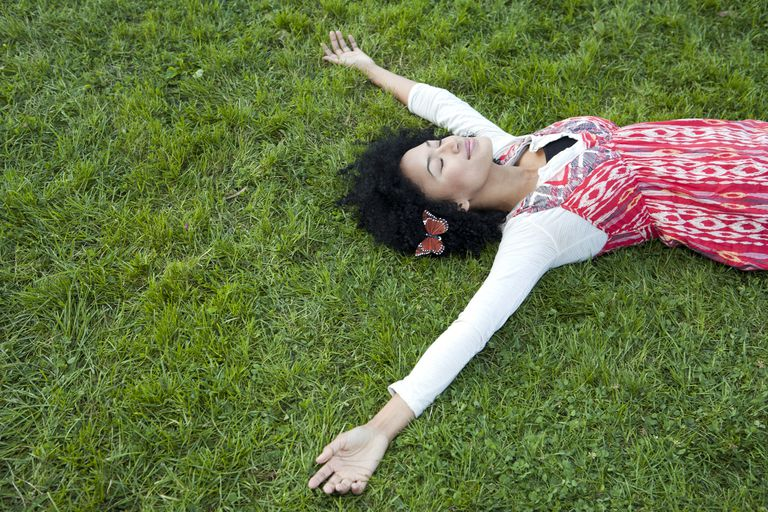 Breathing and visualization can both lead to relaxation