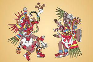 Quetzalcoatl and Tezcatlipoca