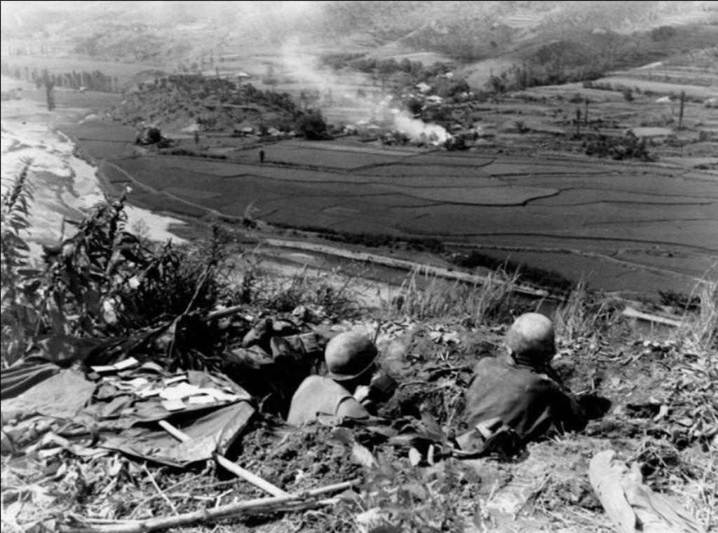 US troops defend the Pusan Perimeter