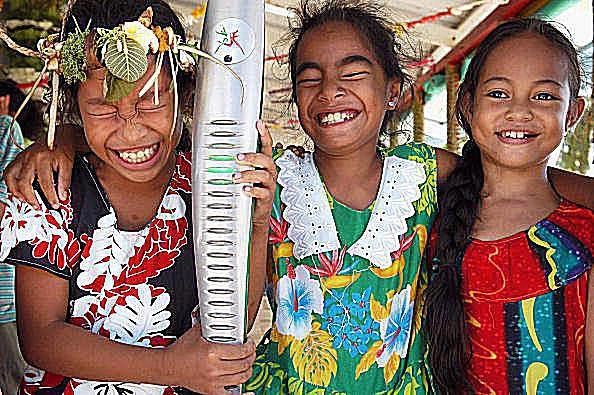 Tuvalu Children