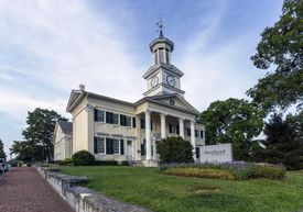 McMurran Hall at Shepherd University in West Virginia