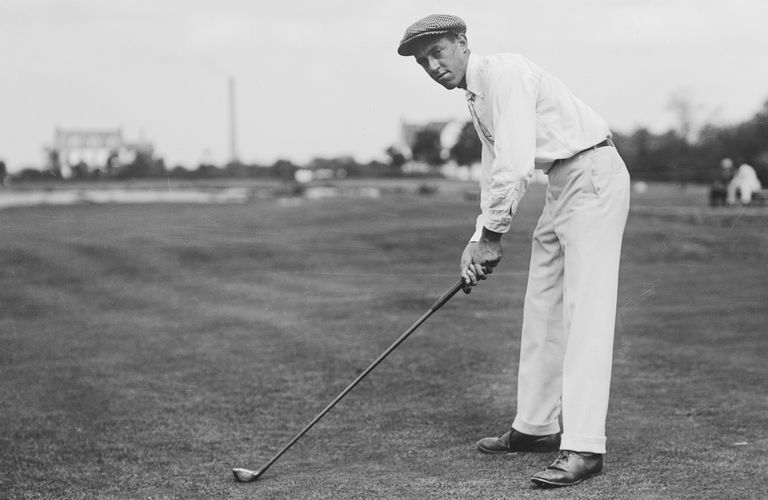 Golfer Francis Ouimet