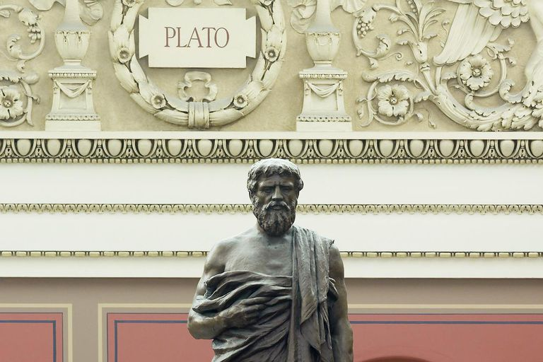 Bronze Sculpture Of Plato