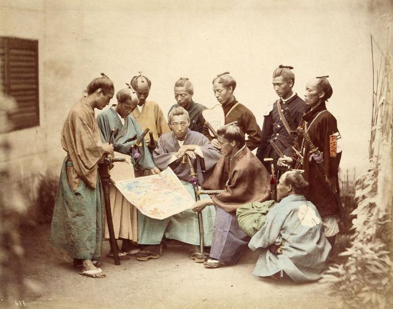 Samurai from Choshu fought for the emperor's cause during the Boshin War