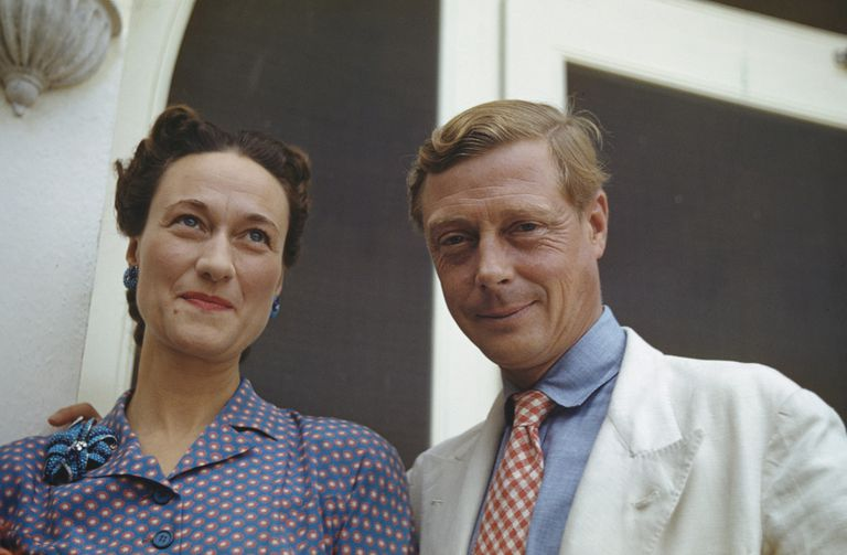 A picture of Mrs. Wallis Simpson and the former King Edward VIII