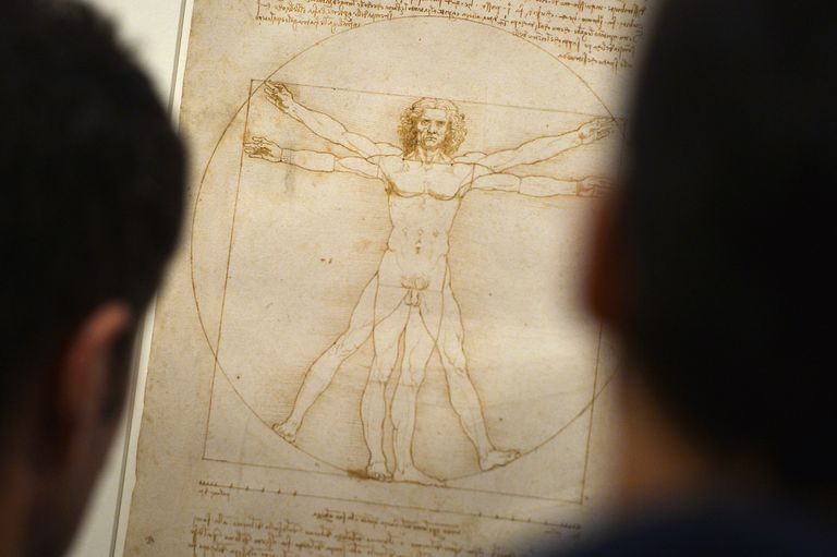 ITALY-DAVINCI-CULTURE-SCIENCE-ART-EXHIBITION