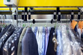 Dry cleaning isn't actually a dry process. It just doesn't involve water.