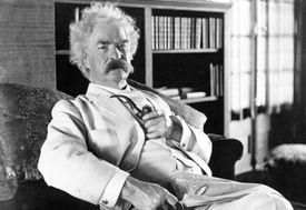 Mark Twain Portrait