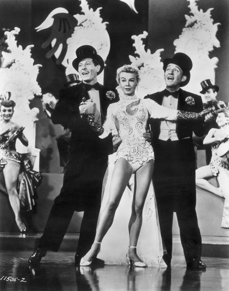 white christmas starring danny kaye vera ellen and bing crosby hulton archive stringergetty images - How Old Was Bing Crosby In White Christmas