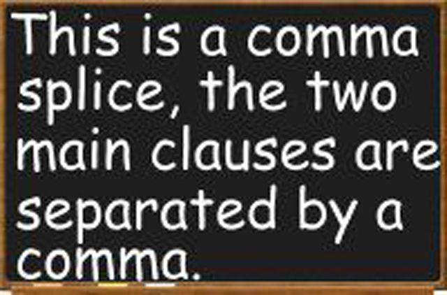 Comma Splice