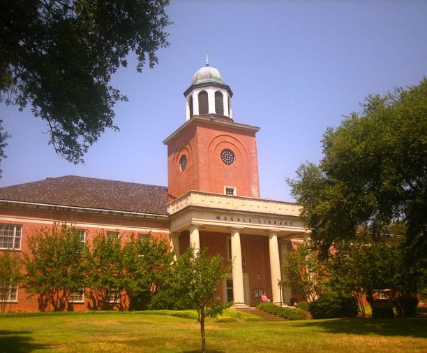 Magale Library at Centenary College of Louisiana