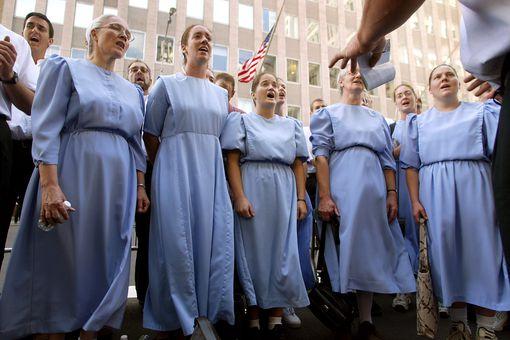 Mennonite choir