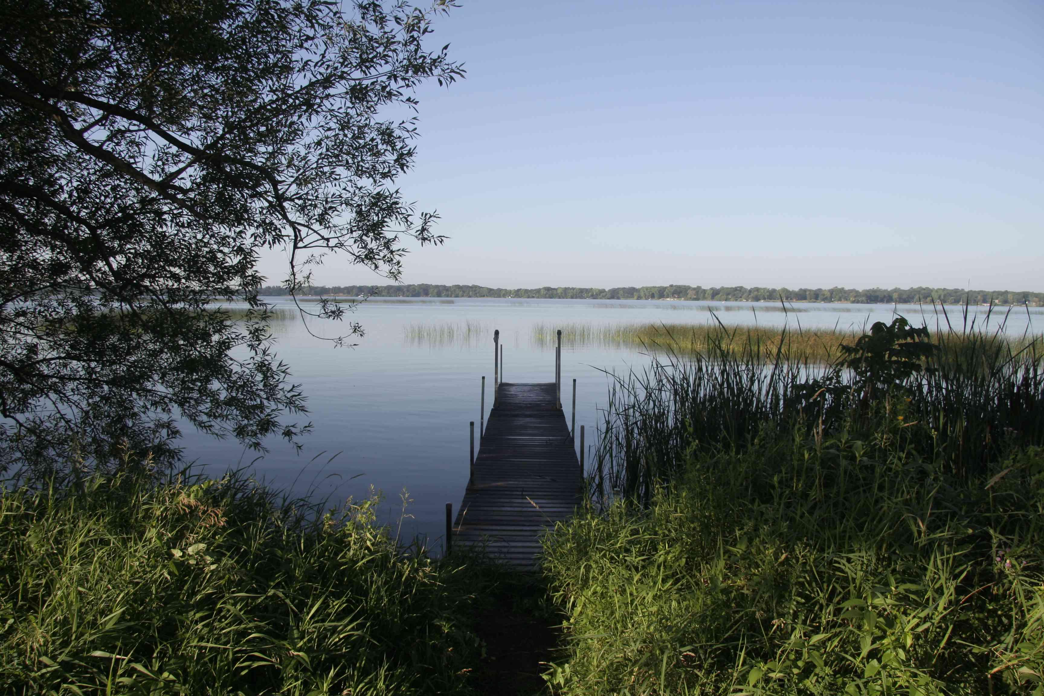 Dock on Lake Sakakawea