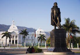 Statue of Toussaint Louverture in Port-au-Prince, Haiti