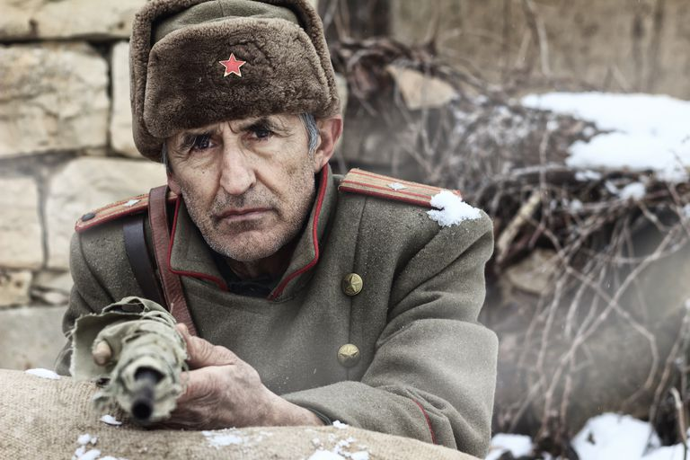 WWII Russian Officer