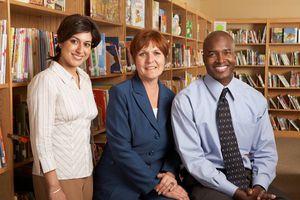 teachers and principal