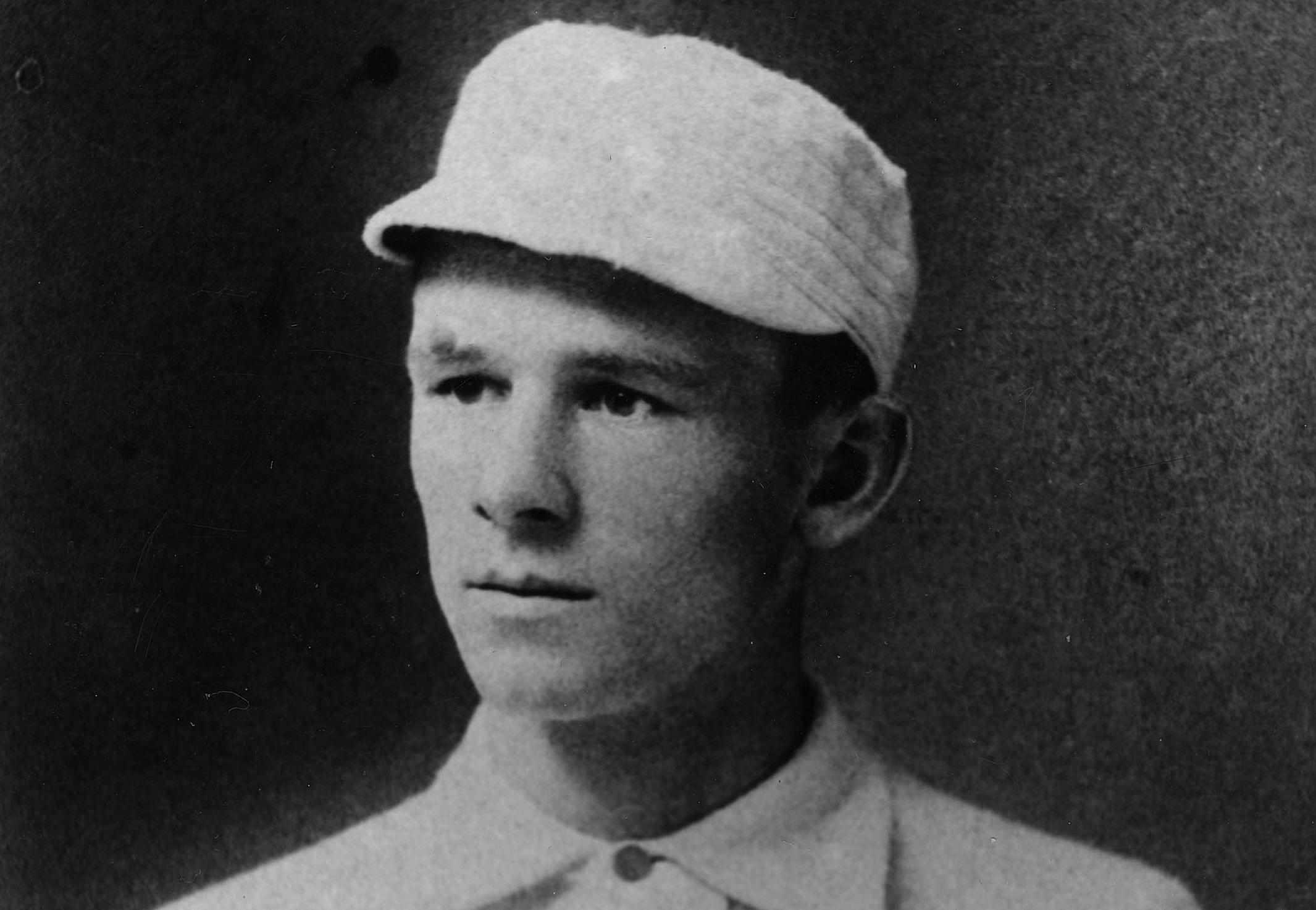 Photograph of baseball legend John McGraw