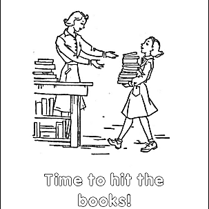 Back to School Coloring 2