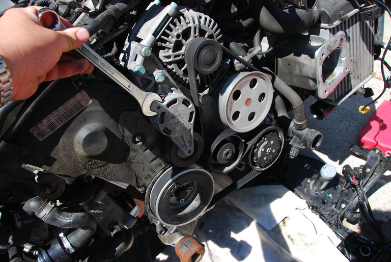 Cracked Serpentine Belt Inspection On Your Car