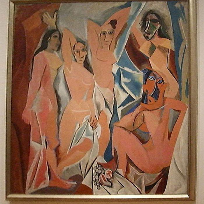 Les Demoiselles d'Avignon - Picasso