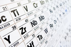 The IUPAC sets the standards of atomic weights that appear on the periodic table.