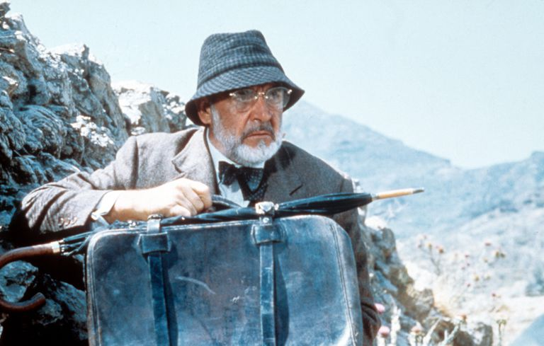 Sean Connery In 'Indiana Jones And The Last Crusade'