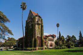 Tower Hall, San Jose State University, California.