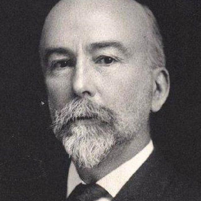 Black and white photograph of William Morris Davis.