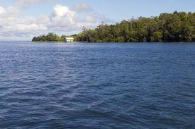 Indonesia, North Maluku, Halmahera, island in the Pacific Ocean.'