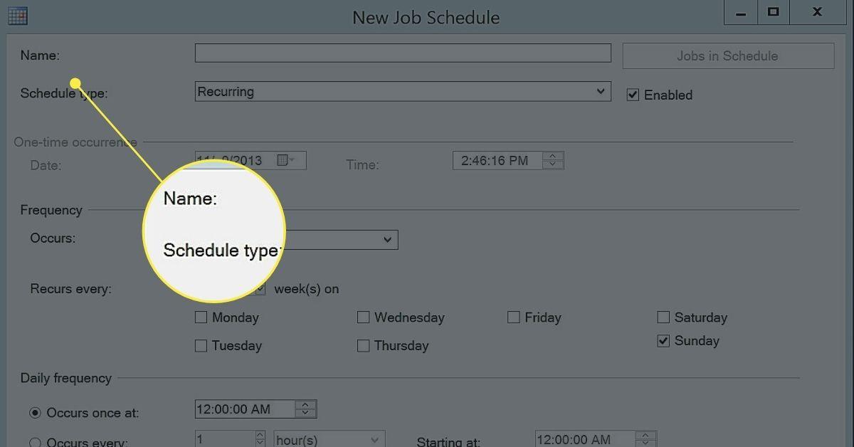 Scheduling SQL Server Agent Jobs
