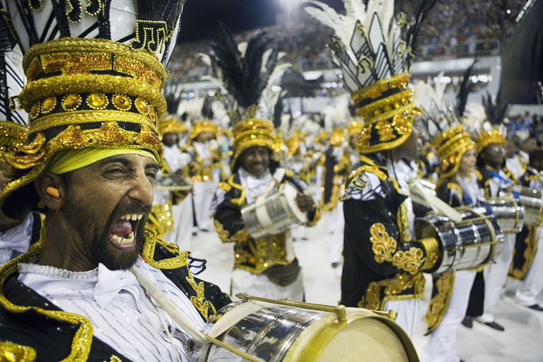 Carnival Parade Drummers