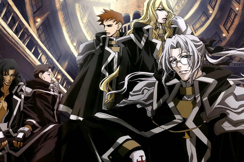 Trinity blood anime