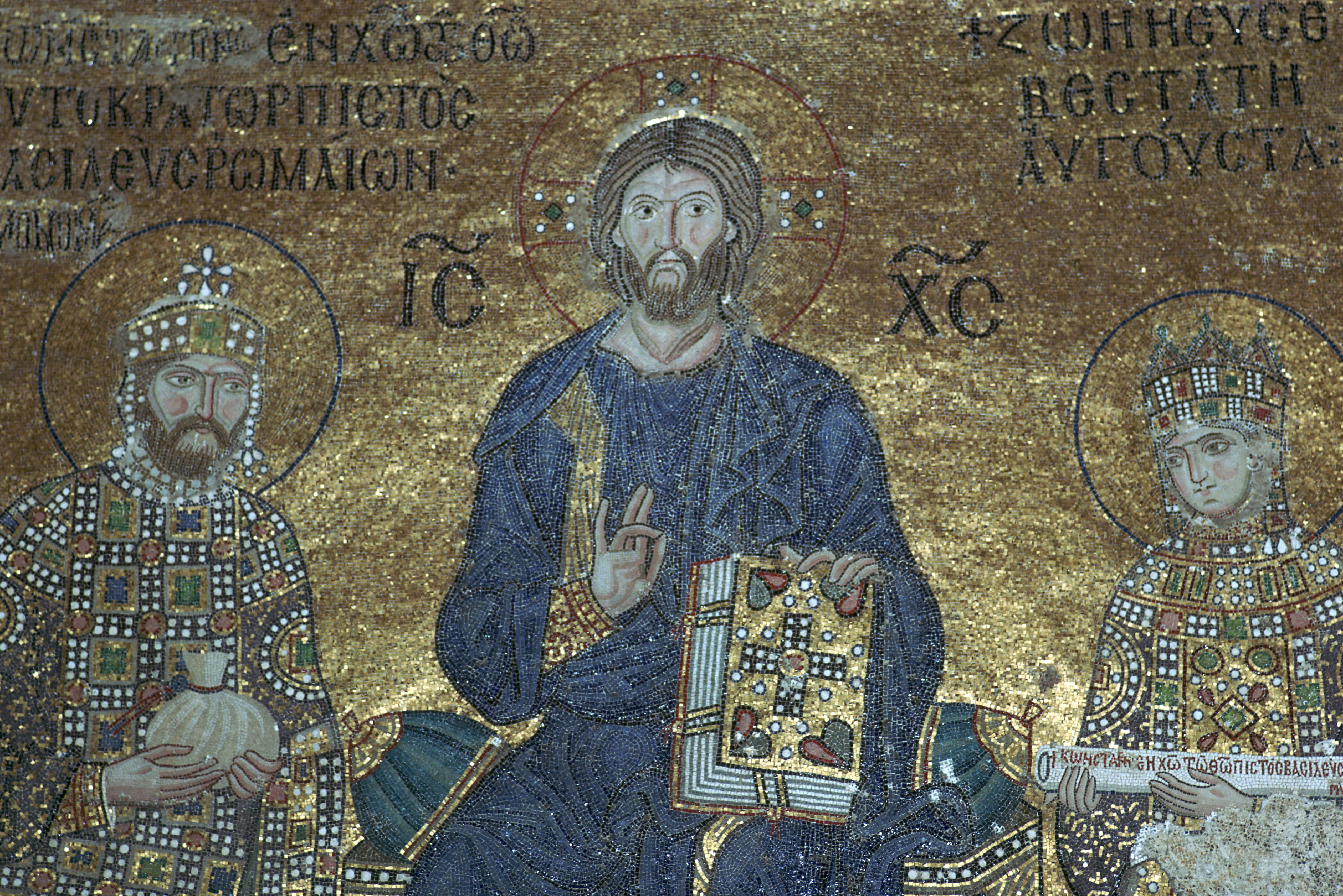 The Byzantines sure loved their mosaics.