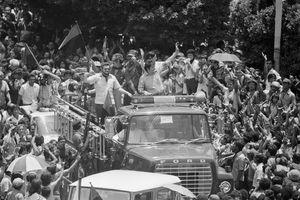 Sandinistas enter Managua, 1979