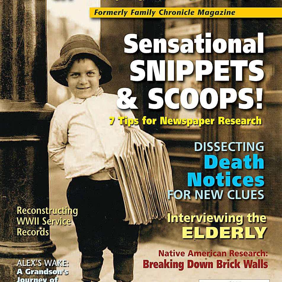 Your Genealogy Today Magazine, formerly Family Chronicle Magazine
