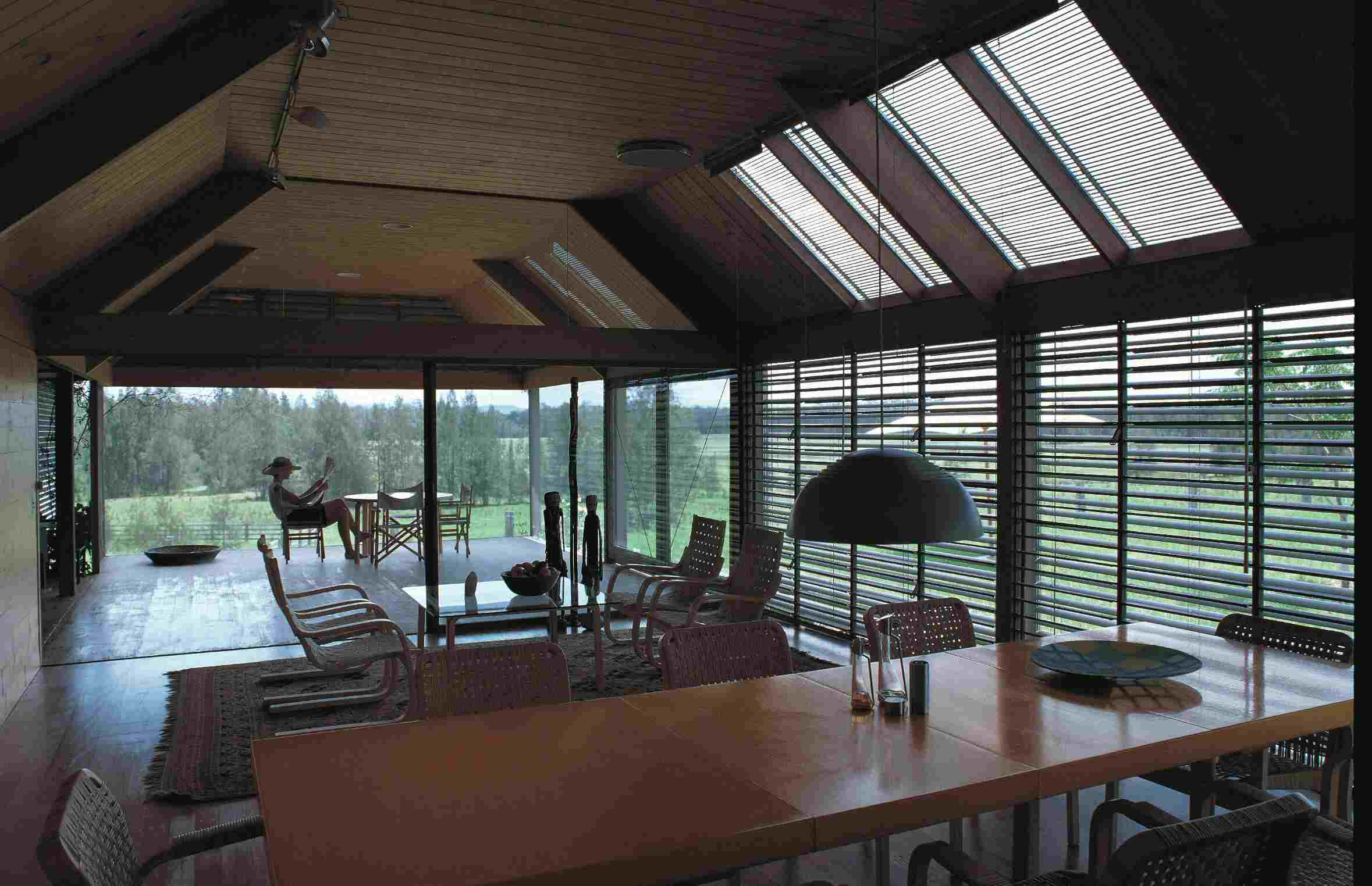 Pritzker Prize-winning architect Glenn Murcutt used local timber for the Marie Short House