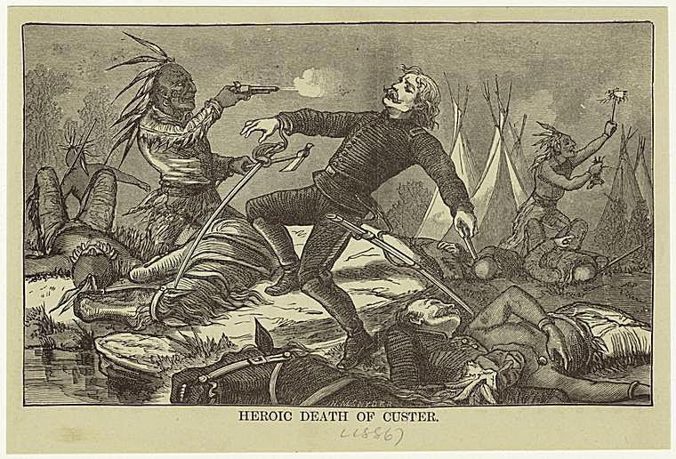 Heroic Death of Custer