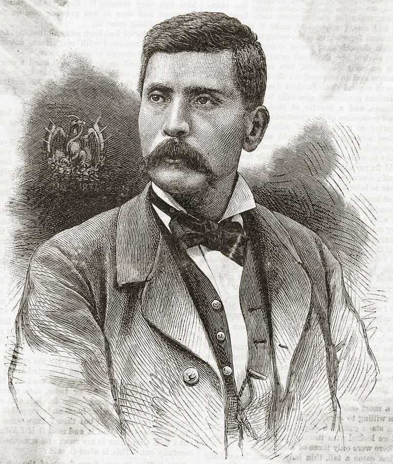 Portrait of Porfirio Diaz in Civilian Clothes